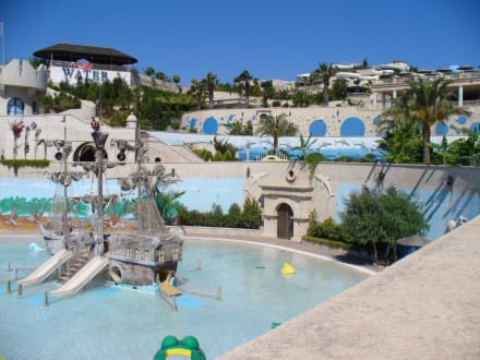 Kinderbecken - Waterpark Faliraki