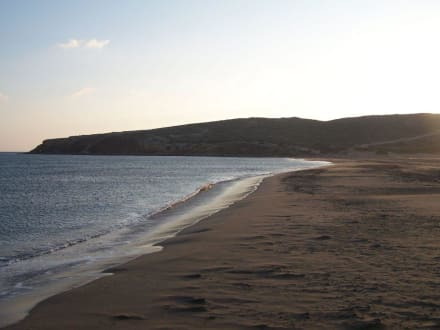 Das ruhige Mittelmeer - Strand Prasonissi
