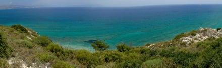Aussicht auf dem Weg zum Papas Beach - Pappa Beach / Ireon