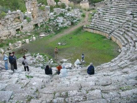 Amphietheater von Phaselis - Phaselis