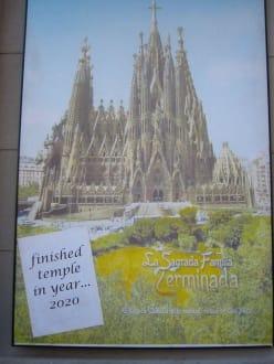 Wenn die Sagrada Familia einmal fertig ist - Sagrada Familia