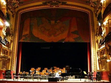 Teatro Amazonas - Bühne - Teatro Amazonas