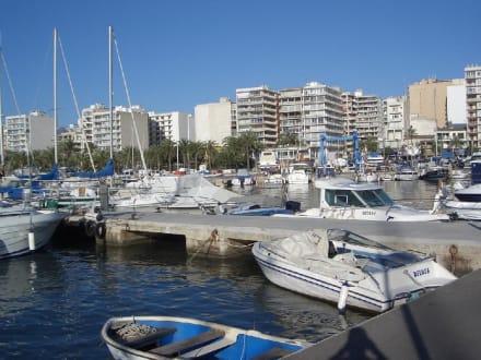 Blick vom Yachthafen auf El Arenal - Yachthafen El Arenal/S'Arenal