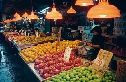 Kowloon - Märkte in Kowloon