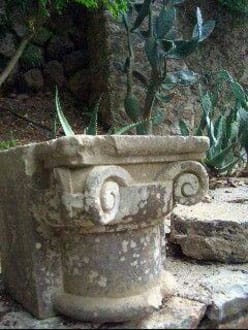 im Garten - La Granja