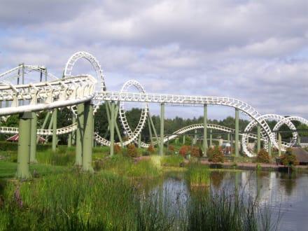 Big Loop Achterbahn Bild Heidepark Soltau In Soltau