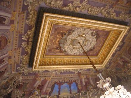 Goldverzierte Holzdecke - Dolmabahce Palast