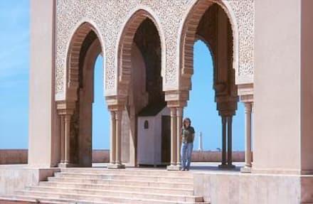 Casablanca - Hassan-II.-Moschee