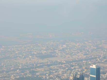 Blick über die Stadt - Burj Khalifa