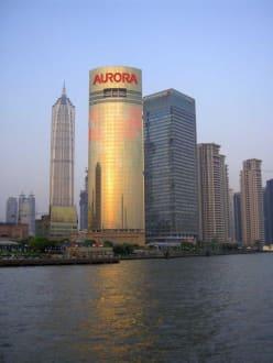 Hafenrundfahrt, Ufer Pudong - Pudong