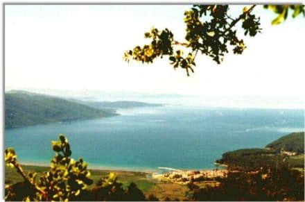 Blick auf Akyaka - Bucht von Gökova
