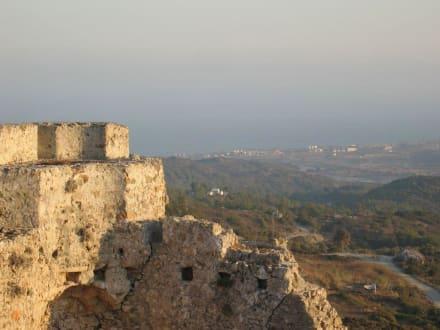 Vom Castle zum Strand - Johanniter Burg - Asklipieo
