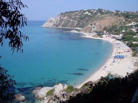 Grotticelle Strand - Der Traum! - Strand Ricadi