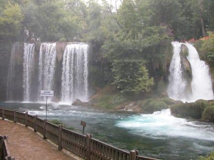 Düden Wasserfälle - Oberer Düden Wasserfall