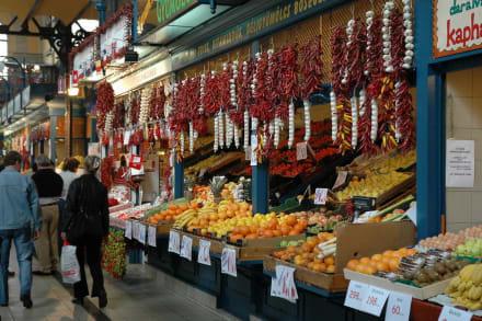 Obst und Gemüse - Markthallen
