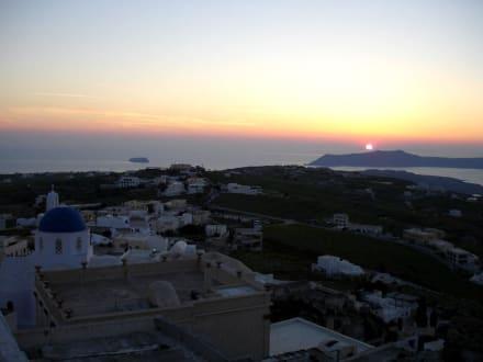 Sonnenuntergang in Pyrgos - Altstadt Pyrgos