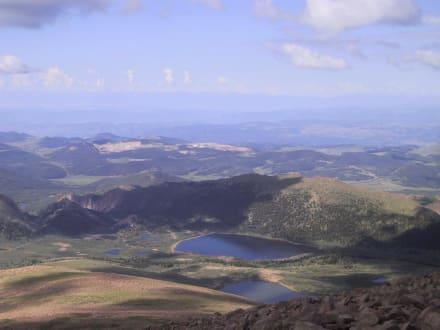 Ausblick vom Pikes Peak - Pikes Peak