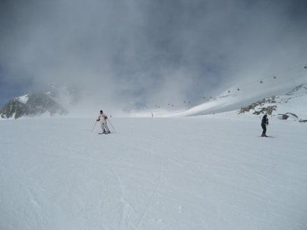 Gletscher fast alleine - Skigebiet Sölden