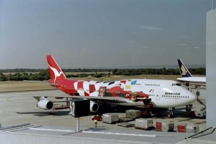 Qantas 747-400 - Flughafen Sydney/ Kingsford Smith Airport (SYD)