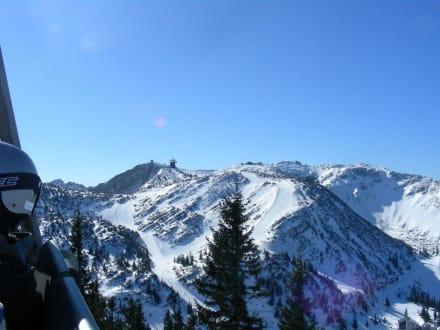 Bilderbuchpanorama - Skigebiet Hochkar