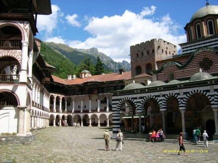 Innenhof des Rilaklosters - Rilakloster
