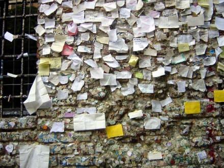 In Verona - Wand der Liebesbotschaften