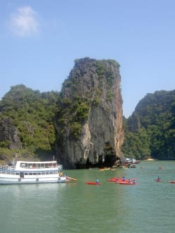 Panak Island - Khao Phing Kan - James Bond Felsen