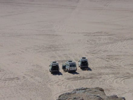 Unser Transportmittel - Jeep Safari Makadi Bay