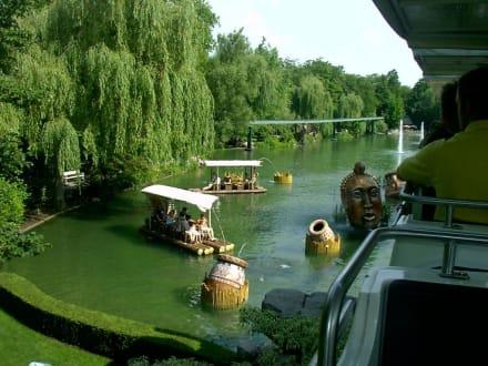 Dschungelfloßfahrt im Abenteuerland - Europa-Park
