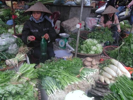 Gemüseverkäufer - Ben-Thanh-Markt