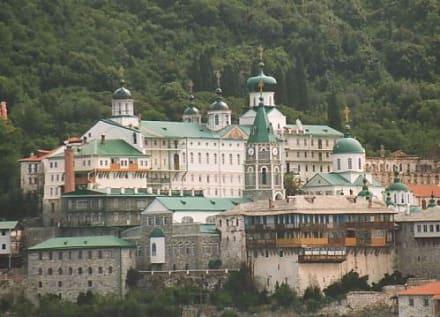 Ausflug zum Berg Athos - Kloster Moni Agiou Panteleimonos
