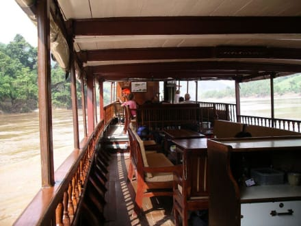 Blick übers Deck - Luang Say Cruise