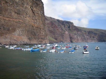 Hafen von Vueltas - Playa de Valle Gran Rey
