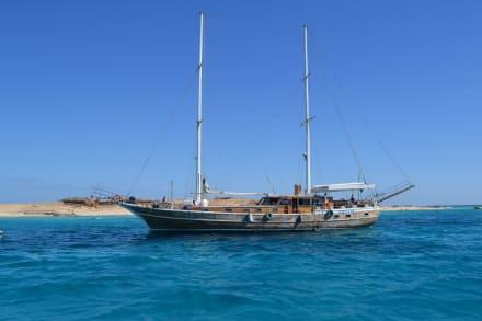 Vor der Insel Pradis - Tiger Marine