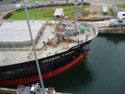 Durchfahrt Panamakanal - Panamakanal