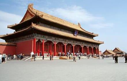Peking - Kaiserpalast, - Verbotene Stadt/Kaiserpalast