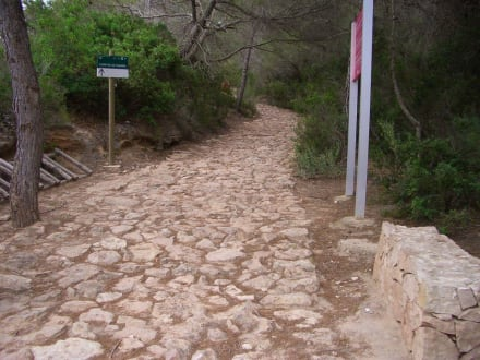Wanderweg - Wandern Es Calo