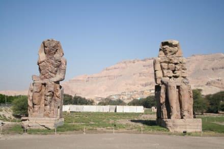 Theben West, Memnon Kolosse - Kolosse von Memnon