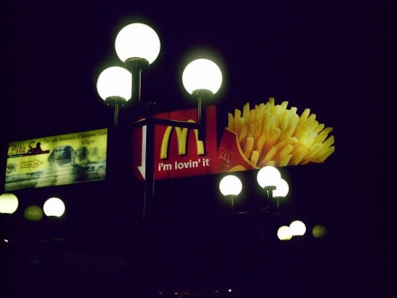 McDonalds bei Nacht - McDonalds