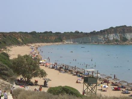 Strand von Gerakes - Strand Kalamaki