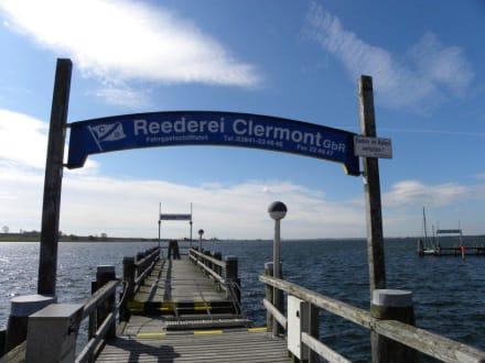 Seebrücke Kirchdorf - Inselrundfahrt Insel Poel
