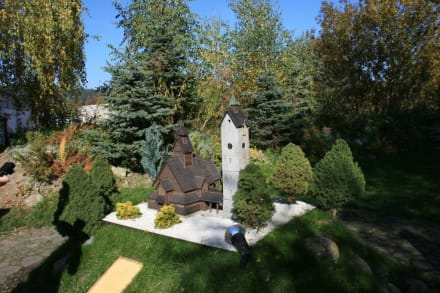 Miniatur der Kirche Wang - Miniaturenpark der niederschlesischen Denkmäler
