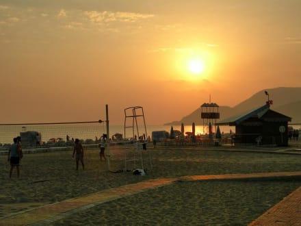 Sonnenuntergang - Strand Alanya