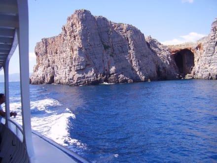 Bootsausflug nach Spinalonga - Insel Spinalonga / Kalidonia