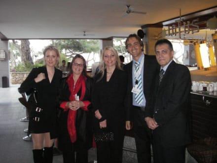 Vor der Gala - HolidayCheck Award Gala