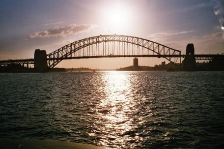Sonnenuntergang - Harbour Bridge