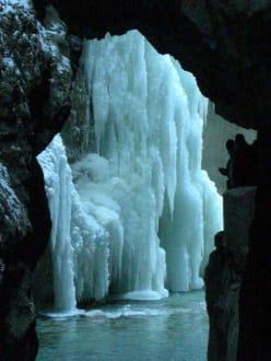 Eisformationen in der Partnachklamm - Partnachklamm