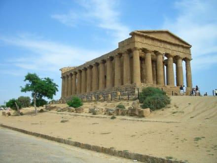 """Agrigento """"die Stadt der Tempeln"""" - Tal der Tempel"""