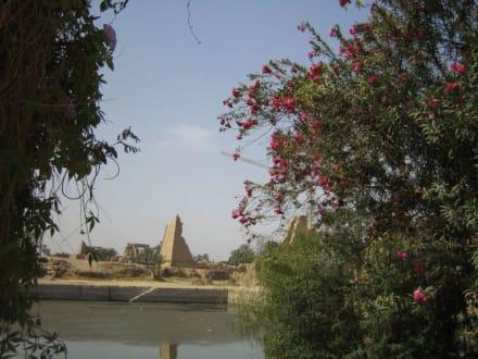 Der Tempelsee im Karnak Tempel. - Amonstempel Karnak
