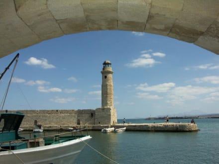 Venezianischer Hafen, Leuchtturm - Hafen Rethymno